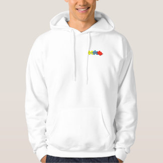 Autism Puzzle Faith Hope Love Hooded Sweatshirt