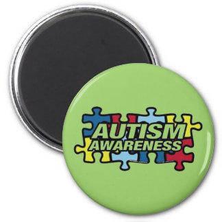 Autism Puzzle Magnet