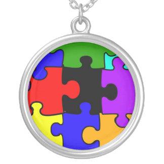 Autism Puzzle Necklace