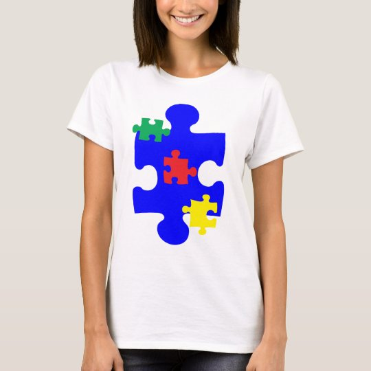 Autism Puzzle Piece Awarness T-Shirt