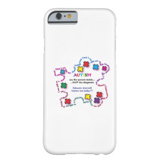 Autism Puzzle Piece Barely There iPhone 6 Case