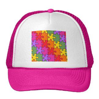 autism puzzle pieces 33 cap