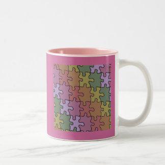 autism puzzle pieces 35 mug