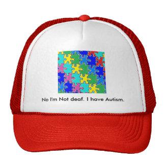 autism puzzle pieces 40 trucker hat