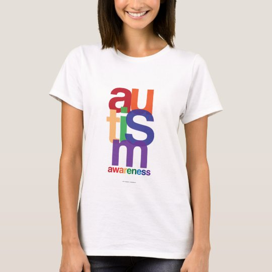 Autism Rainbow Awareness T-Shirt