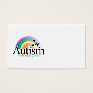 Autism Rainbow Business Card