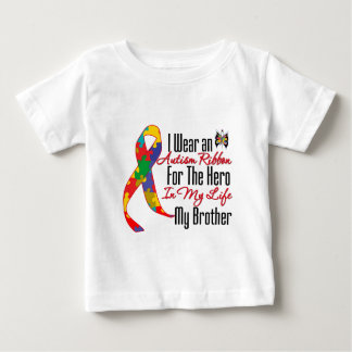 Autism Ribbon Hero in My Life My Brother Infant T-Shirt