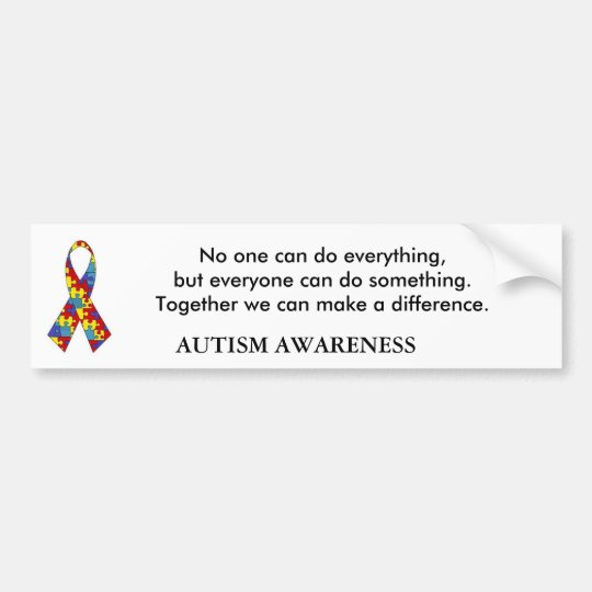 autism_ribbon, No one can do everything, but ev