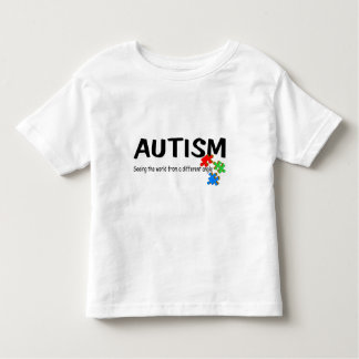Autism Seeing The World From A Different Angle (Pi Toddler T-Shirt