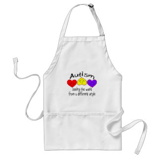 Autism, Seeing The World From A Different Angle Standard Apron