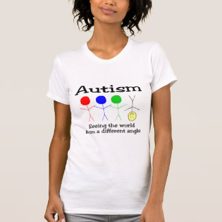 Autism Seeing The World From A Different Angle Tshirts