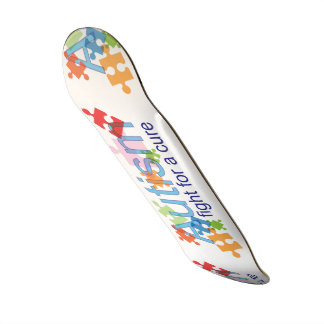Autism skate board