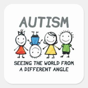 Autism Stickers  U0026 Labels