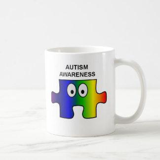 Autism support and awareness coffee mug
