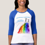 Autism Support Climbing New Heights Woman & Girl Shirts