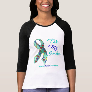 Autism Support For My Grandson Tshirts
