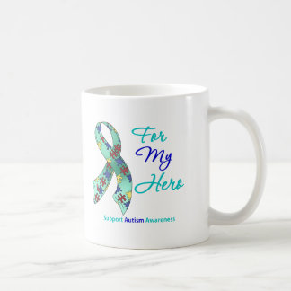 Autism Support For My Hero Mug