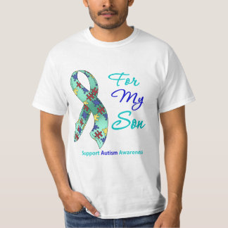 Autism Support For My Son Shirts
