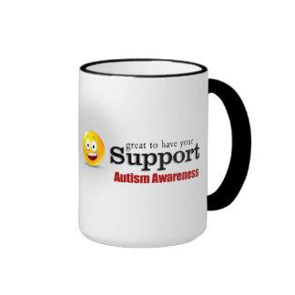 Autism Support Ringer Mug