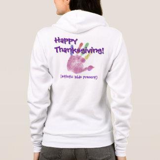 Autism Thanksgiving Hoodie (Light)