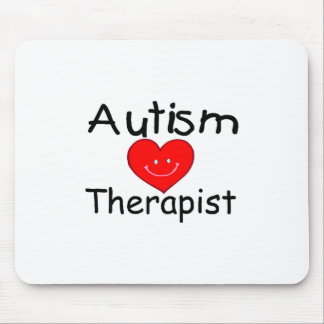 Autism Therapist (Heart) Mouse Pad