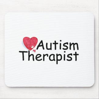 Autism Therapist (Puzzle Hrt) Mouse Pad
