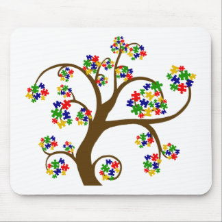 Autism Tree of Life Mouse Mat