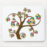 Autism Tree of Life Mouse Pads
