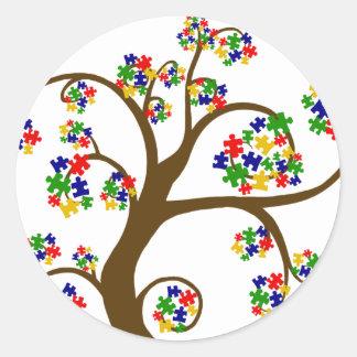 Autism Tree of Life Stickers