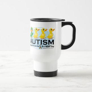 Autism Ugly Duckling Travel Mug