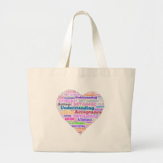 Autism Understanding Acceptance Products Large Tote Bag