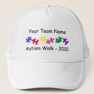 Autism Walk 2010 team trucker hat