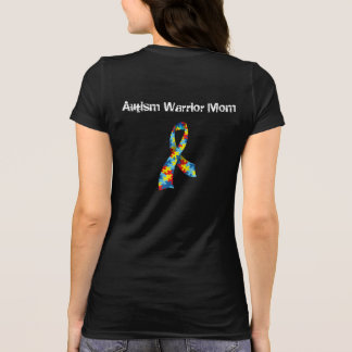 Autism Warrior Mom T-Shirt