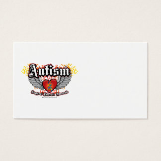 Autism Wings Business Card