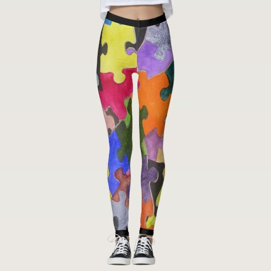 Autism's Path Leggings