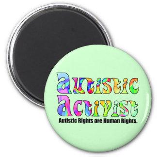 Autistic Activist (Color) Magnets