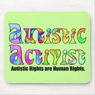 Autistic Activist (Color) Mousepad