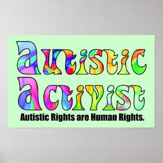 Autistic Activist Poster