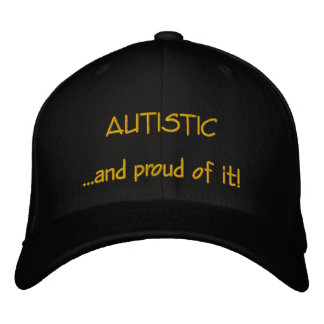 Autistic and Proud Hat Embroidered Cap