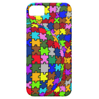 Autistic Jigsaw Warp Barely There iPhone 5 Case