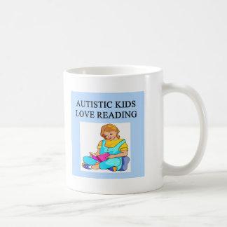 autistic kids kove reading coffee mugs