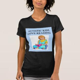 autistic kids kove reading tshirt