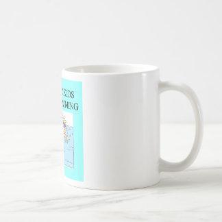 autistic kids kove swimming coffee mug