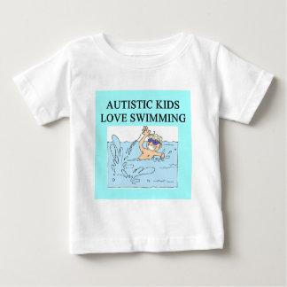 autistic kids kove swimming tee shirt