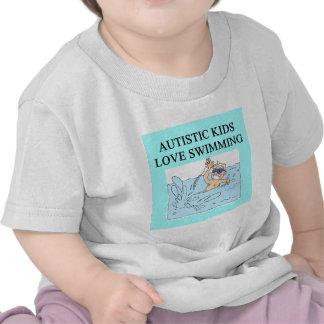 autistic kids kove swimming shirt