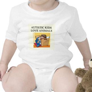 autistic kids love animals tees