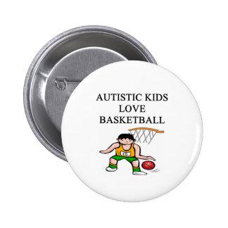 autistic kids love basketball pins