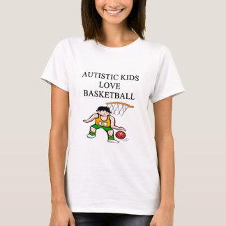 autistic kids love basketball T-Shirt