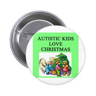Autistic kids love Christmas Pins