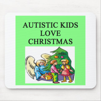Autistic kids love Christmas Mouse Pads